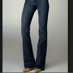 Paige Hollywood Hills Classic Rise Bootcut Jeans *